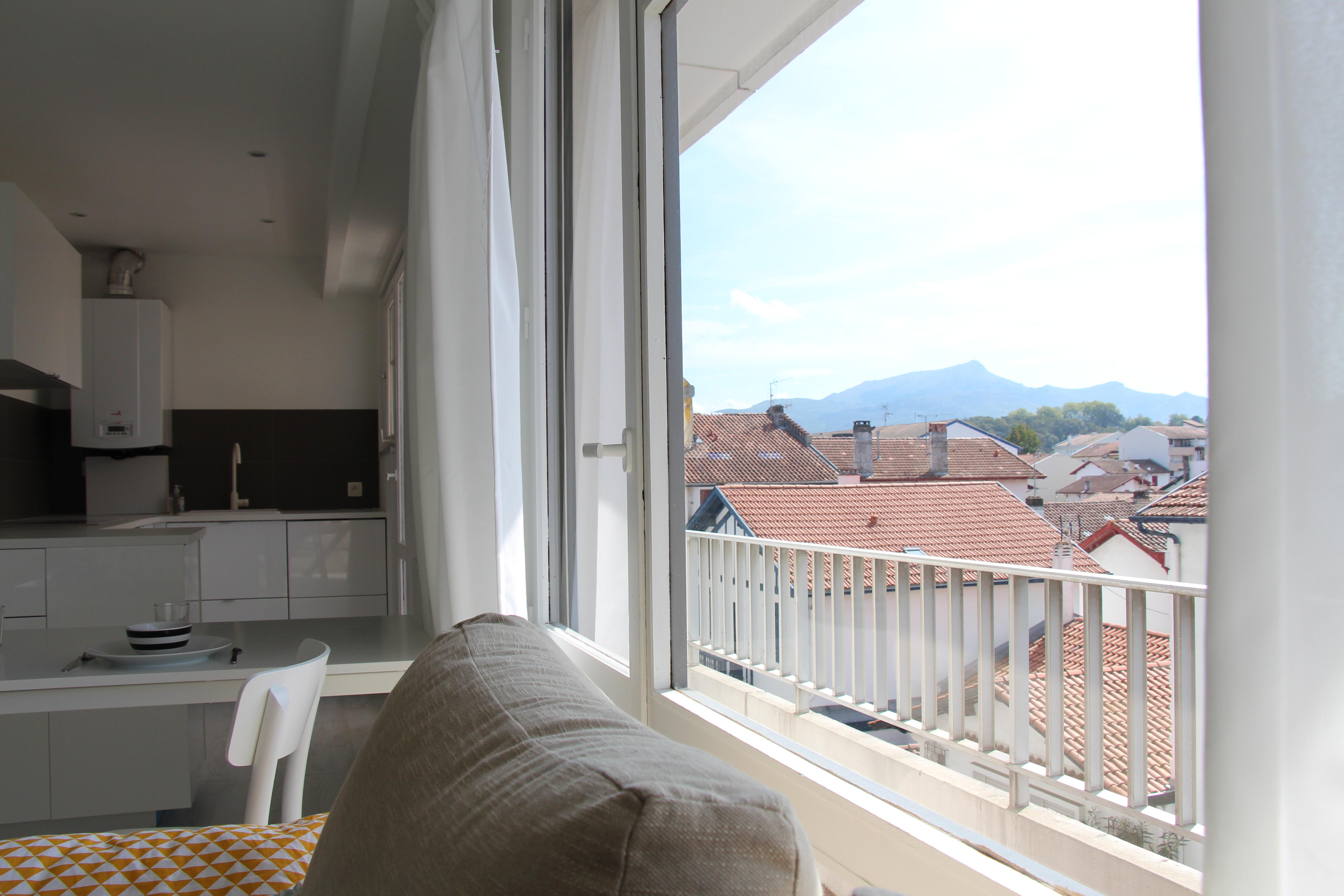 Aménagement d'un appartement de 35m² St Jean de Luz Architecte Pays Basque Aménagement appartement Gwenael Stephan