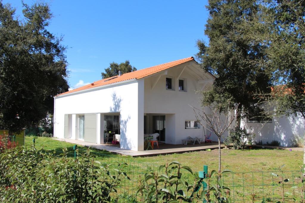 Maison économique à Labenne Architecte Pays Basque Maison Labenne Gwenael Stephan