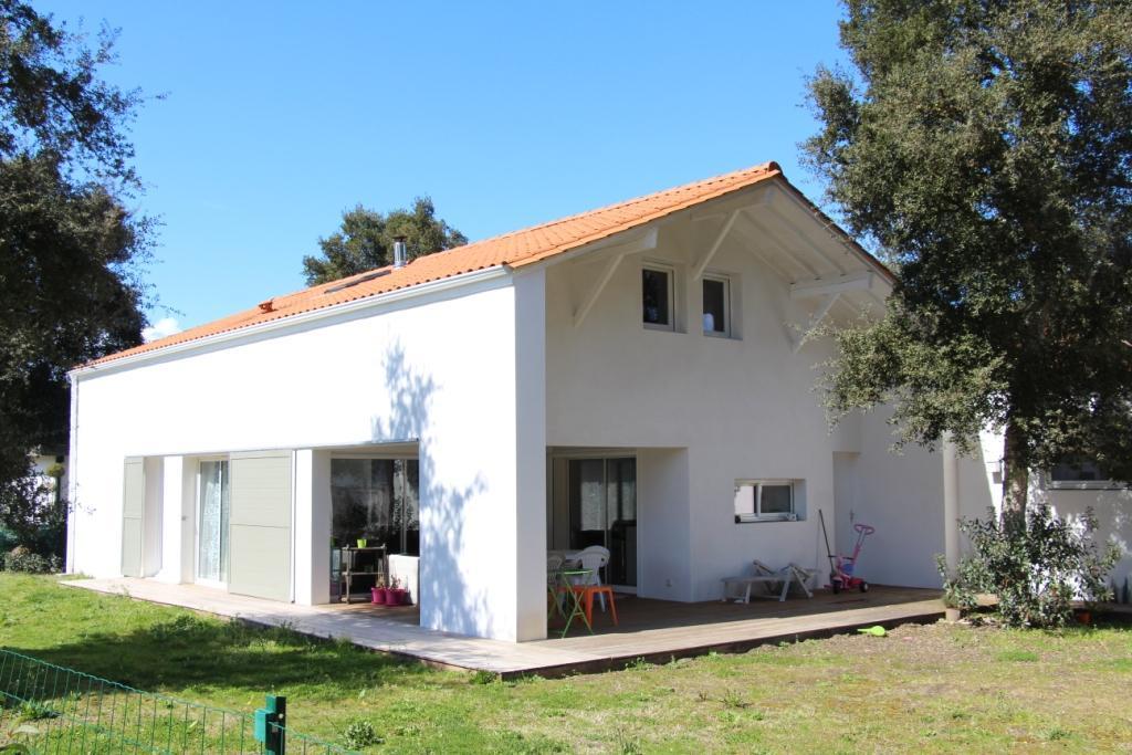 Maison économique à Labenne Architecte Pays Basque Maison économique Gwenael Stephan