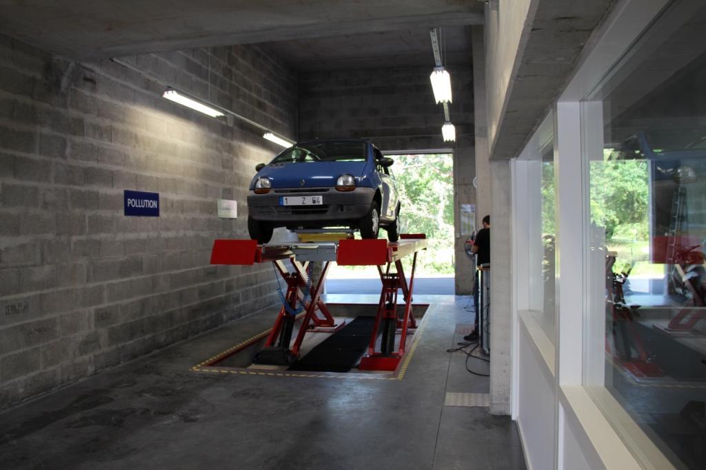 Centre de contrôle technique automobile Boucau Architecte Pays Basque Boucau Gwenael Stephan