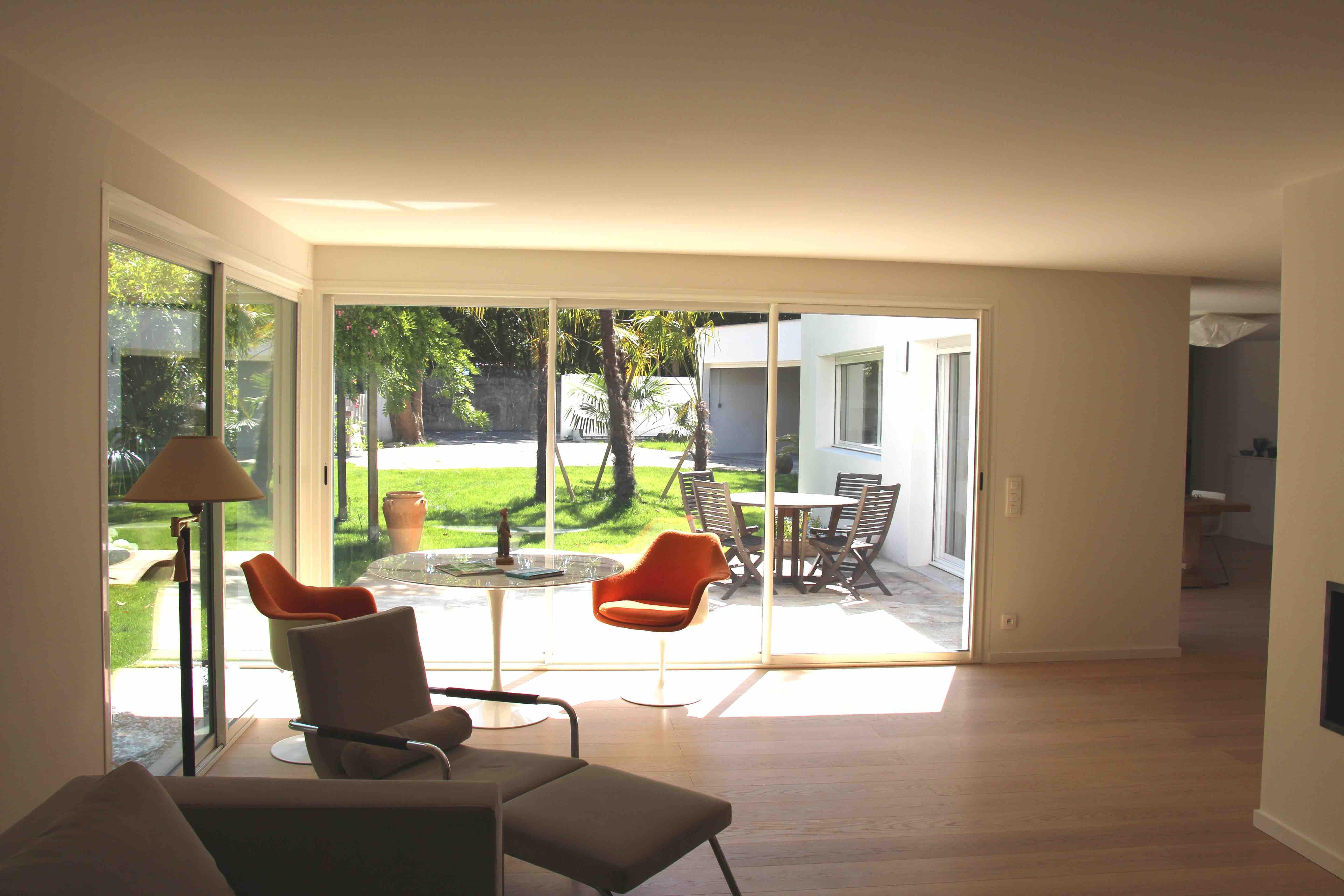 Maison de ville à Bayonne Architecte Pays Basque Conception Maison Neuve Gwenael Stephan