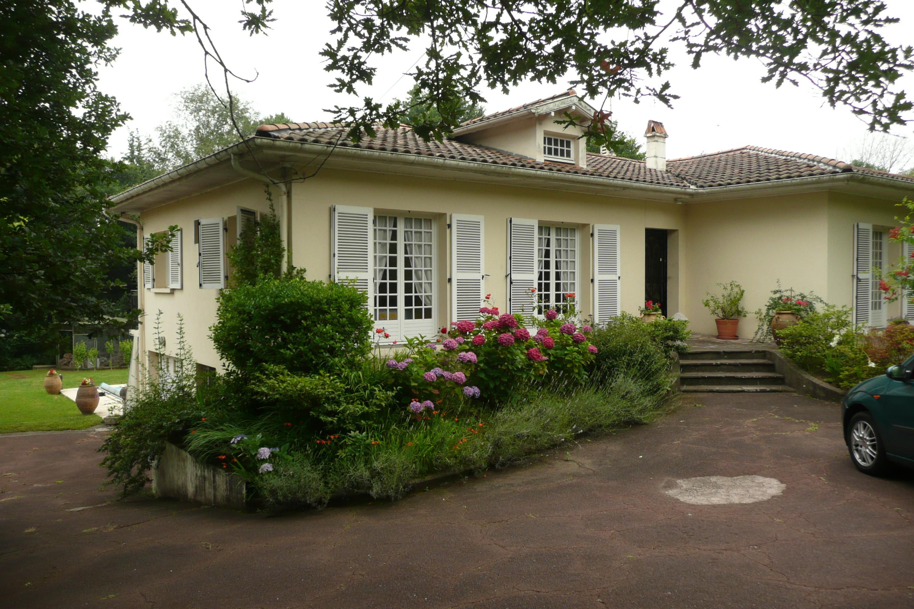 Réhabilitation et extension d'une maison à Anglet Architecte Pays Basque Maison Anglet Gwenael Stephan