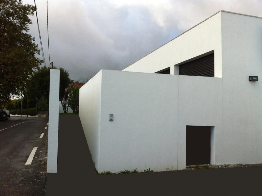 Conception petite maison Anglet Architecte Pays Basque Maison Anglet Gwenael Stephan
