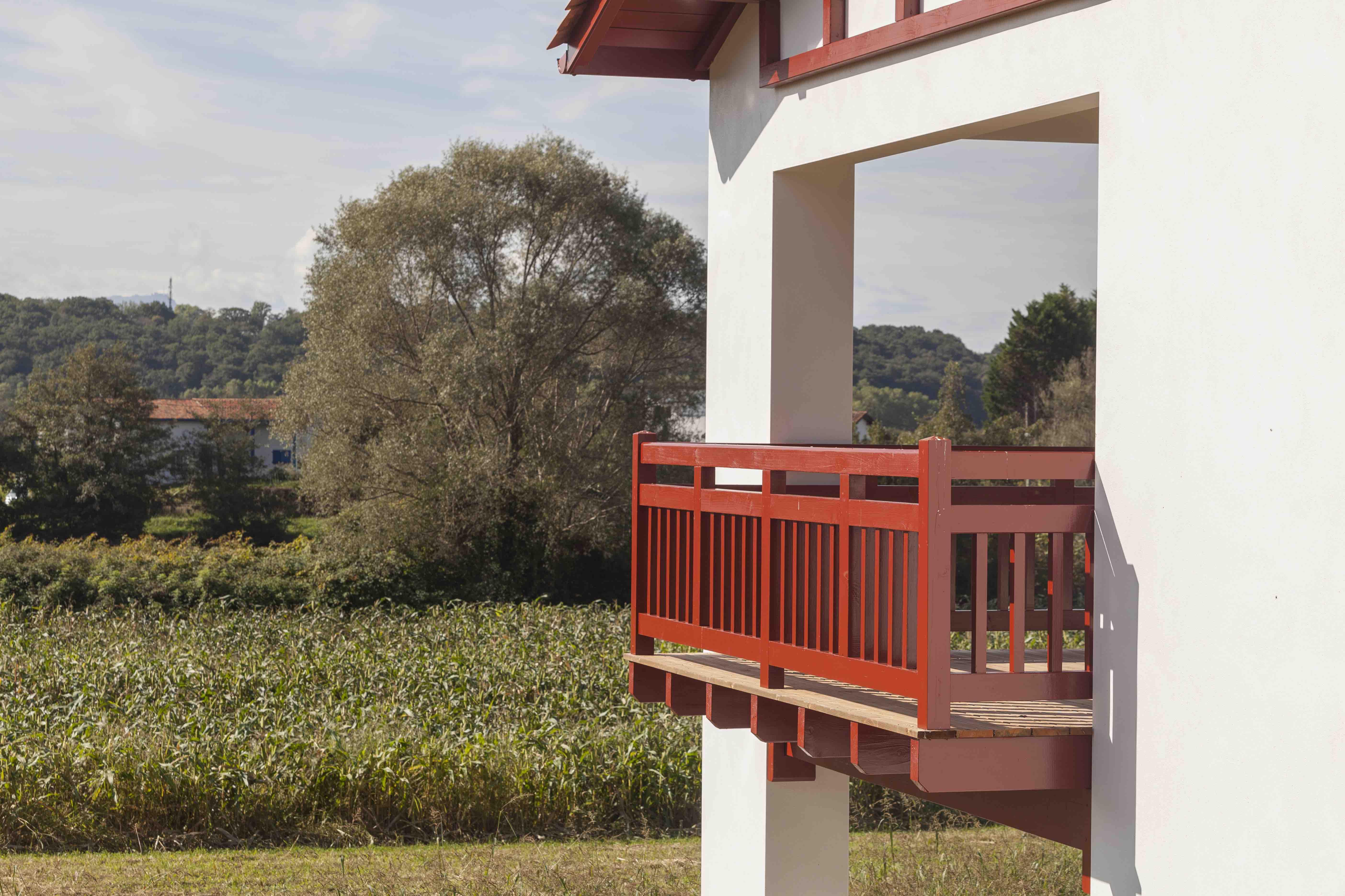 Trois logements locatifs à Villefranque Architecte Pays Basque Logements Villefranque Gwenael Stephan